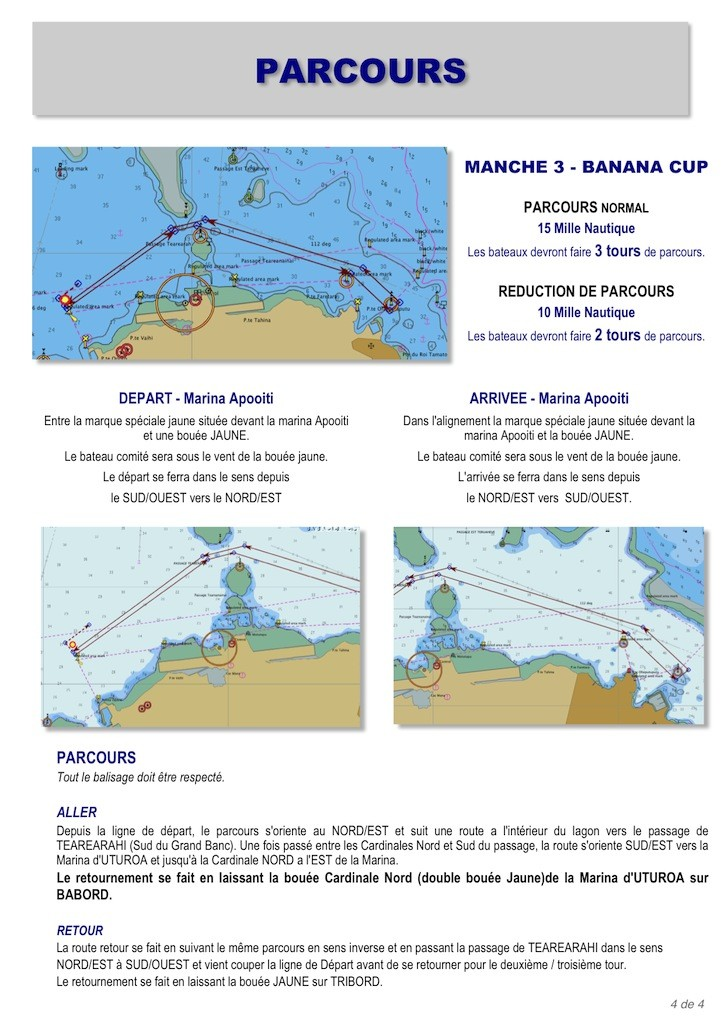 4 - IC Banana Cup - Parcours
